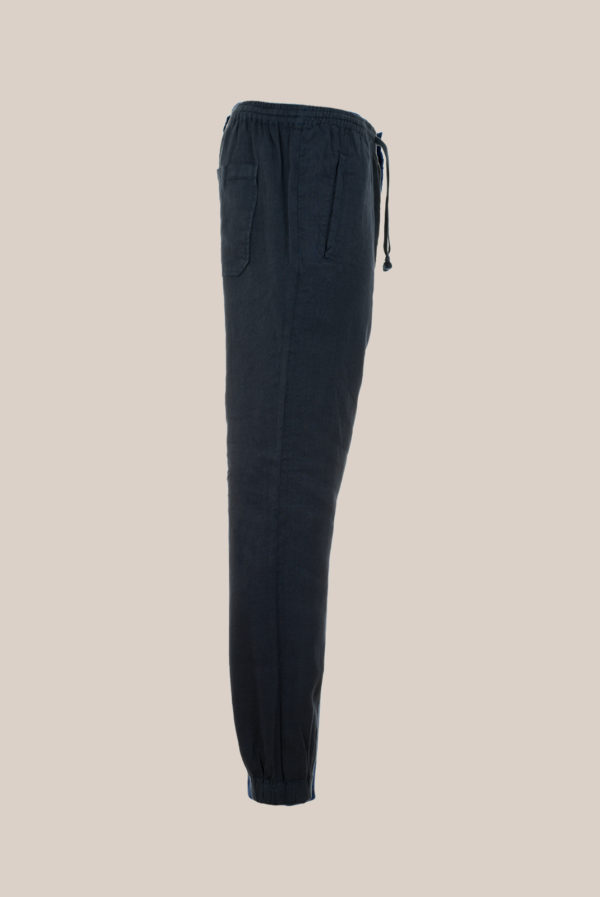 Pantalon « Jog » Uni Marine Foncé
