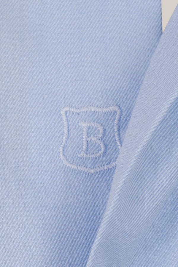 Chemise Beaulieu Coton Twill Bleu ciel
