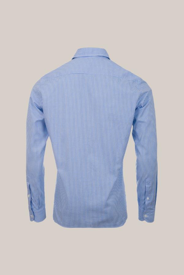 Chemise Beaulieu Coton Oxford Carreaux bleu et blanc