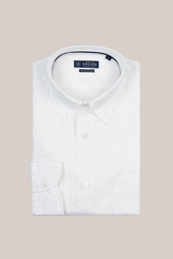 Chemise Ramatuelle Coton Egyptien Oxford Blanc