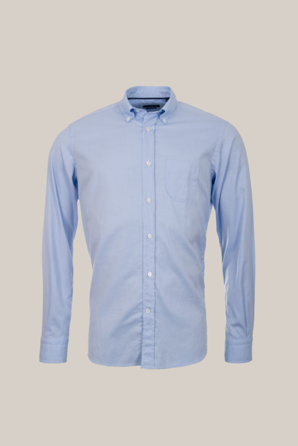 Chemise Ramatuelle Coton Egyptien Oxford Bleu ciel